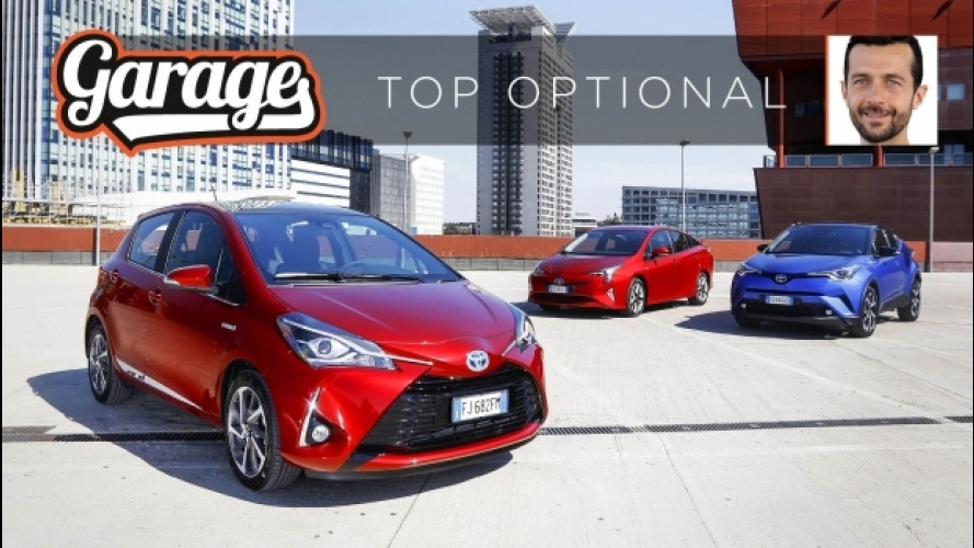 Toyota Hybrid, i 5 optional irrinunciabili [VIDEO]