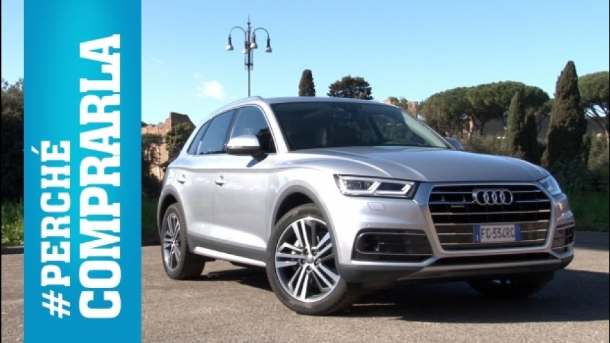 Audi Q5, perché comprarla… e perché no [VIDEO]
