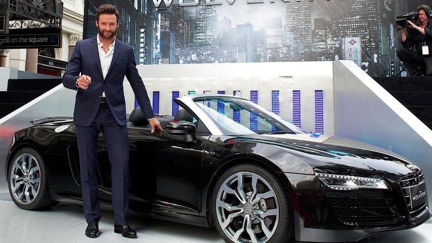 Audi R8 Spyder stars in The Wolverine