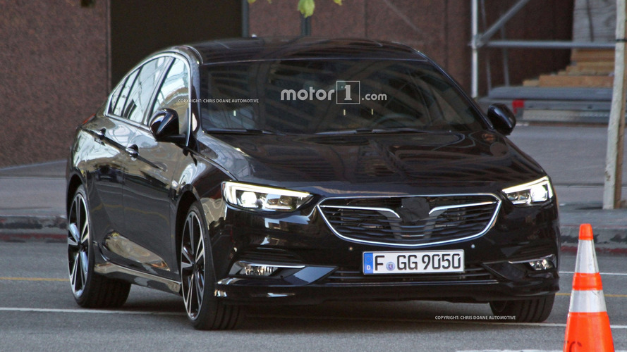 2017 Opel Insignia sedan and wagon spy photos