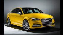 Você é ousado? Audi S3 Sedan Exclusive tem exóticas cores verde, amarelo e laranja