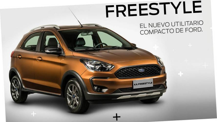 Ford anuncia Ka Freestyle como