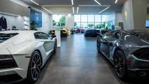Lamborghini dealer openings