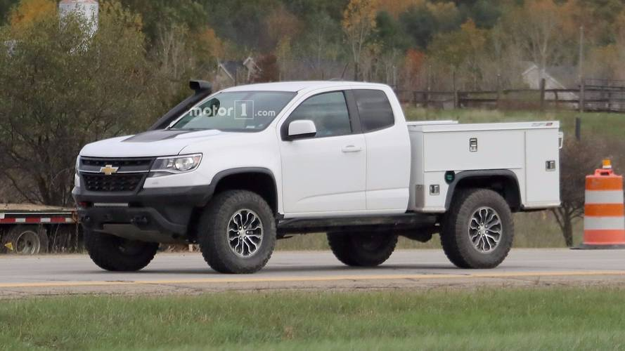 Ultimate Work Truck: Chevy Testing ZR2-Based Utility Vehicle