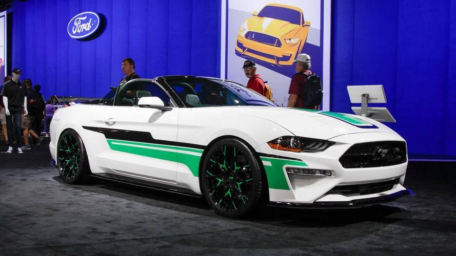7 Ford Mustangs tunados no SEMA Show