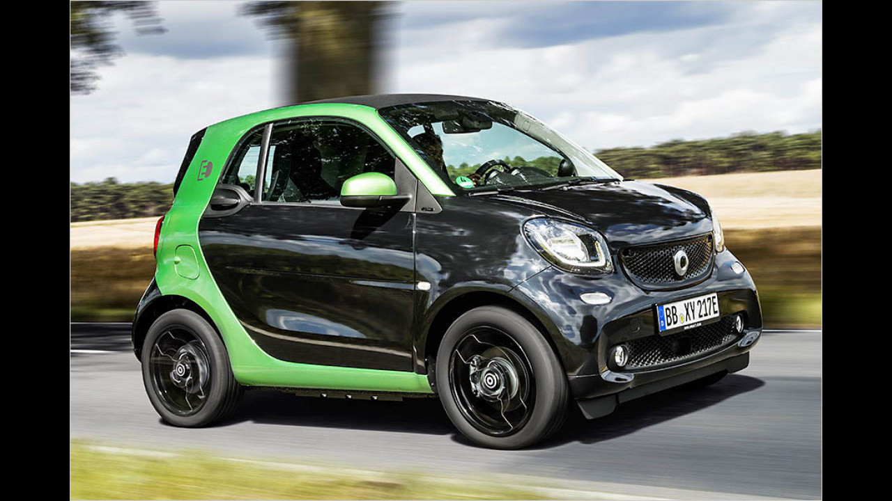 Smart Fortwo electric drive: 160 km