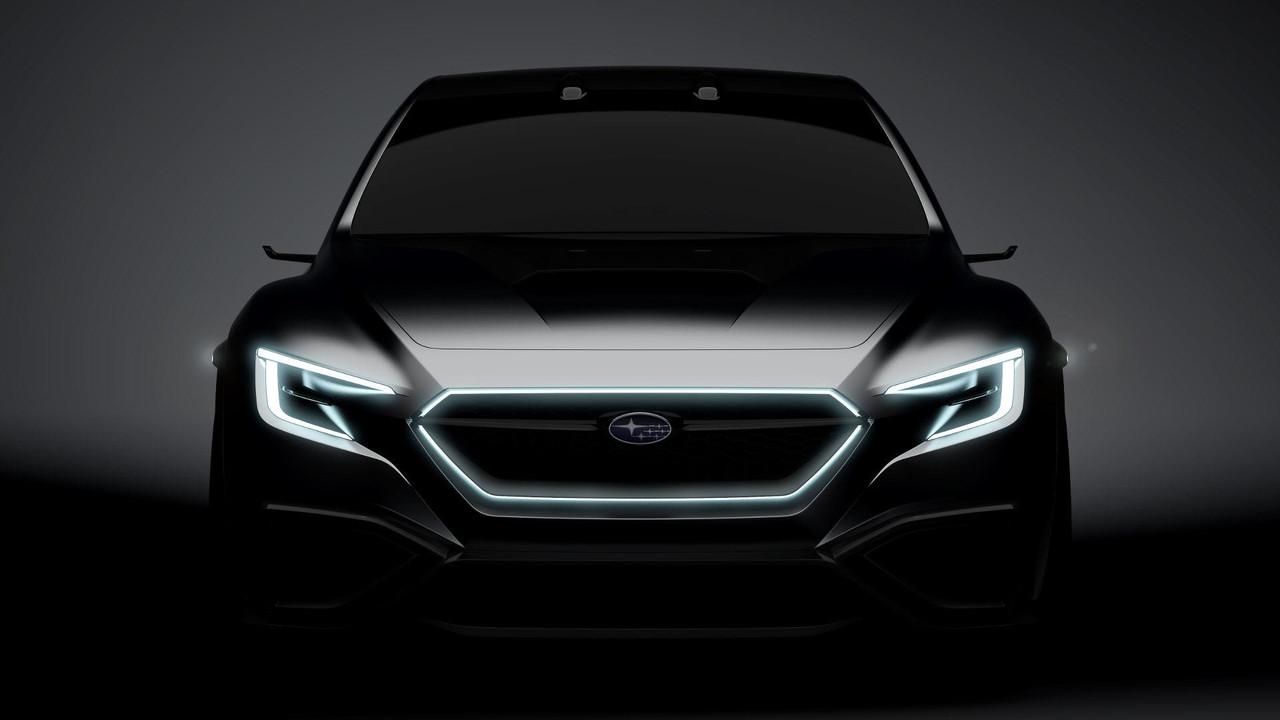 Subaru VIZIV Performance Concept teasers