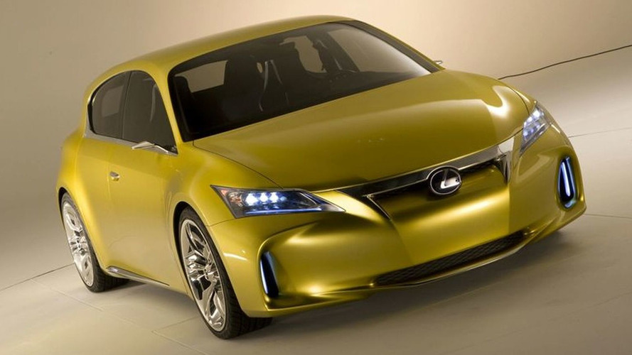 Lexus Previews LF-Ch Compact Concept - World Premiere in Frankfurt