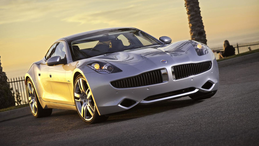 Fisker Karma production halted
