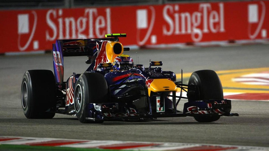 Red Bull set to dominate Singapore weekend