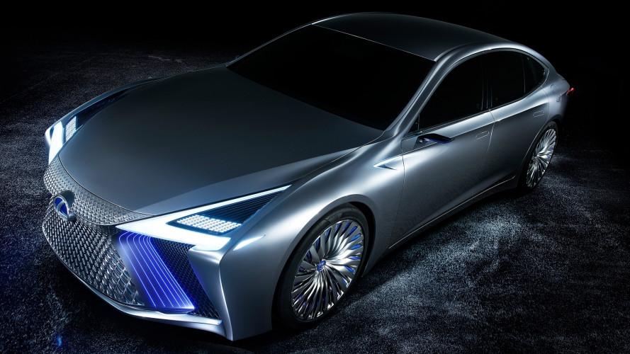 Lexus LS+ Concept, a guida autonoma (in autostrada) fra 3 anni