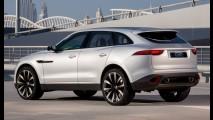 Jaguar F-Pace de produção vai estrear em setembro no Salão de Frankfurt