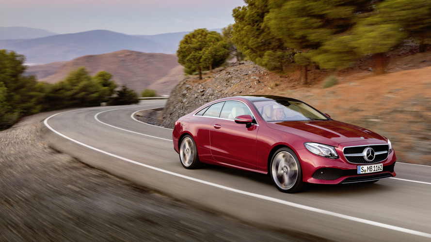 Mercedes E-Class coupe and cabrio get clever four-cylinder engine