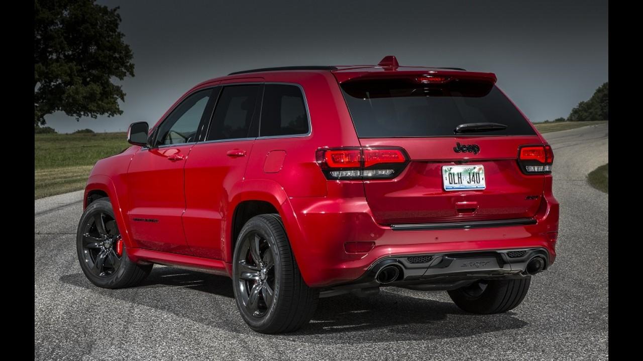 """Grand Cherokee terá versão """"brava"""" com motor V8 de 717 cv"""