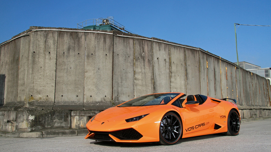 Lamborghini Huracan Spyder Vision of Speed