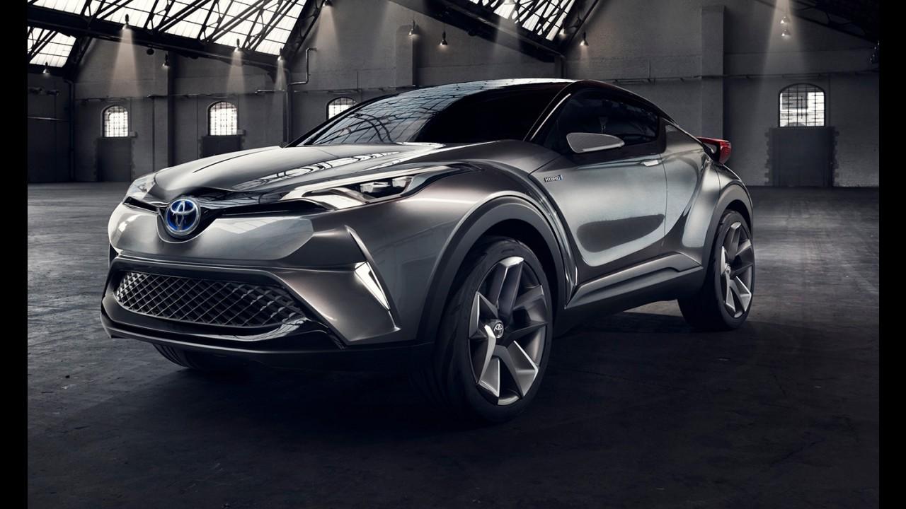 Toyota divulga teaser da versão final do C-HR, que estreia em Genebra