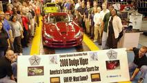 600hp Dodge Viper SRT-10 Goes Into Production