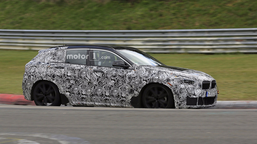 2018 BMW X2 Crossover Coupe Spied At The Nurburgring