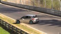 Renault Megane 2 R.S. Crash