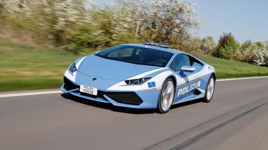La policía italiana tiene un refuerzo de lujo... ¡un Lamborghini Huracán!