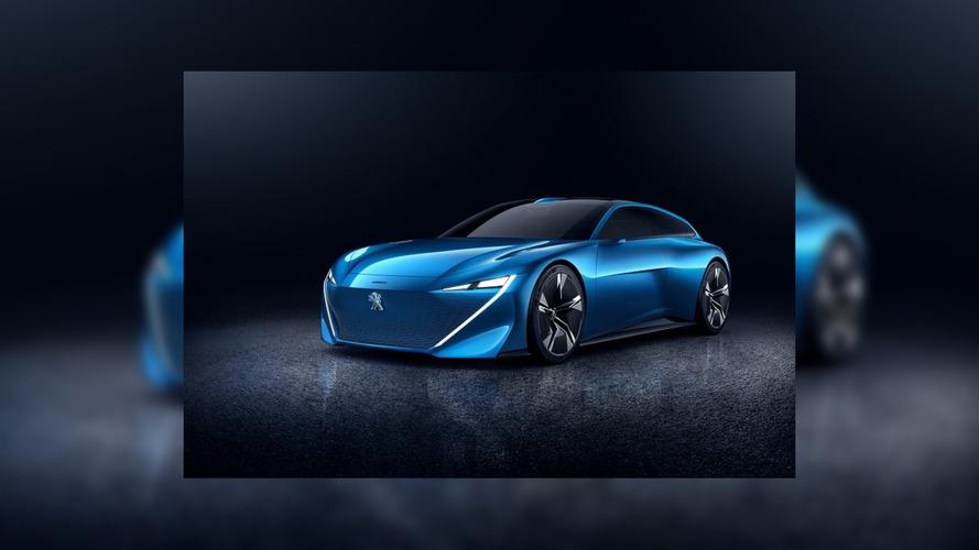 Peugeot'un Instinct konseptinin görüntüsü sızdı