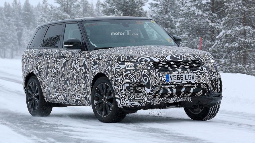 Range Rover Sport facelift spied again