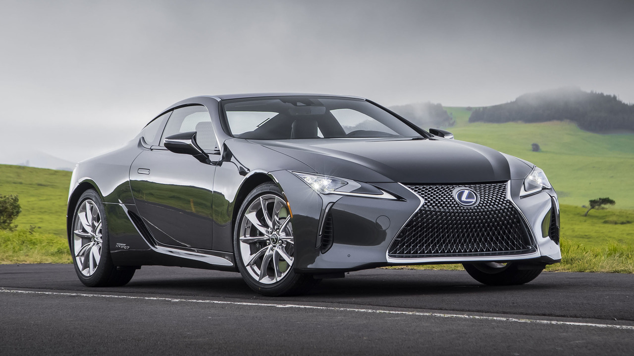 2018 lexus lc 500h first drive the hotshot hybrid. Black Bedroom Furniture Sets. Home Design Ideas
