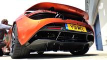 McLaren 720S Hot Start
