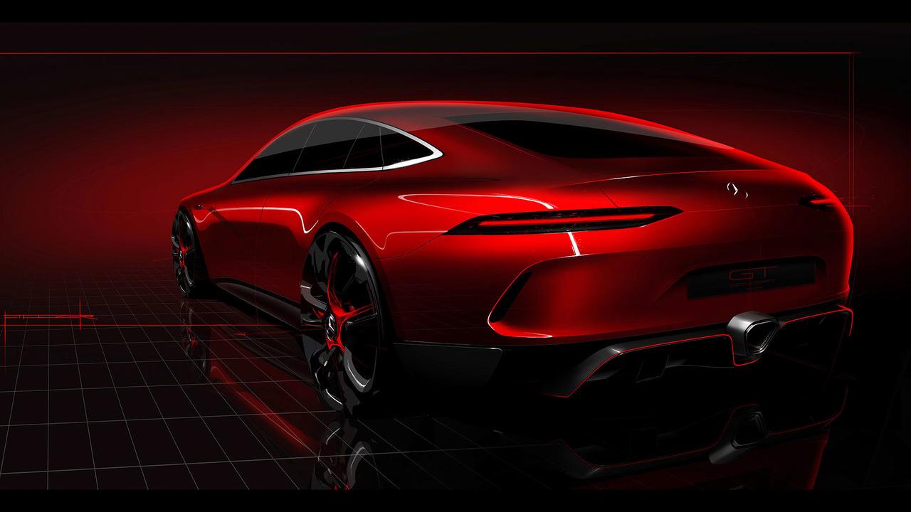 Mercedes-AMG GT Concept teaser photo