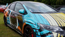 Honda Civic Type R at 2017 Goodwood Festival of Speed