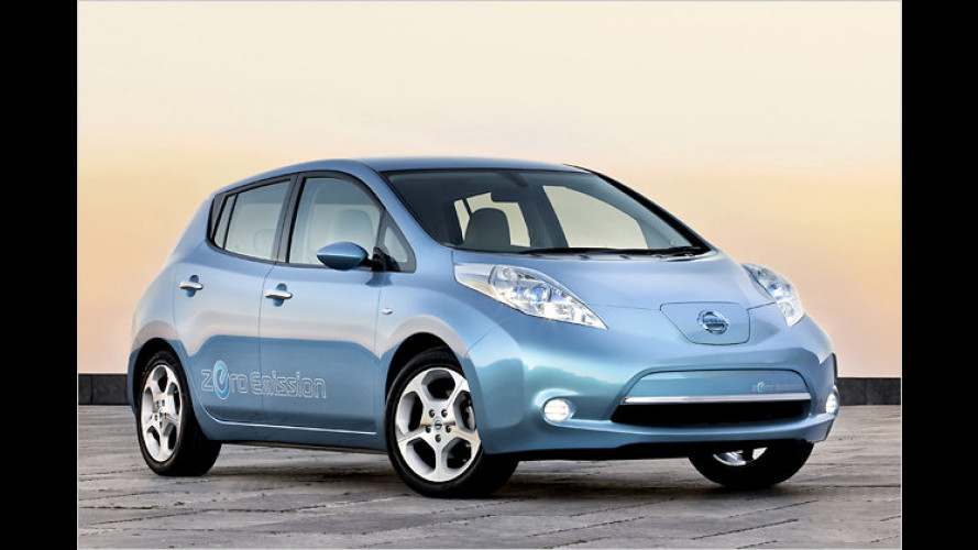 Nissan vertreibt Schnellladesystem für Elektroautos