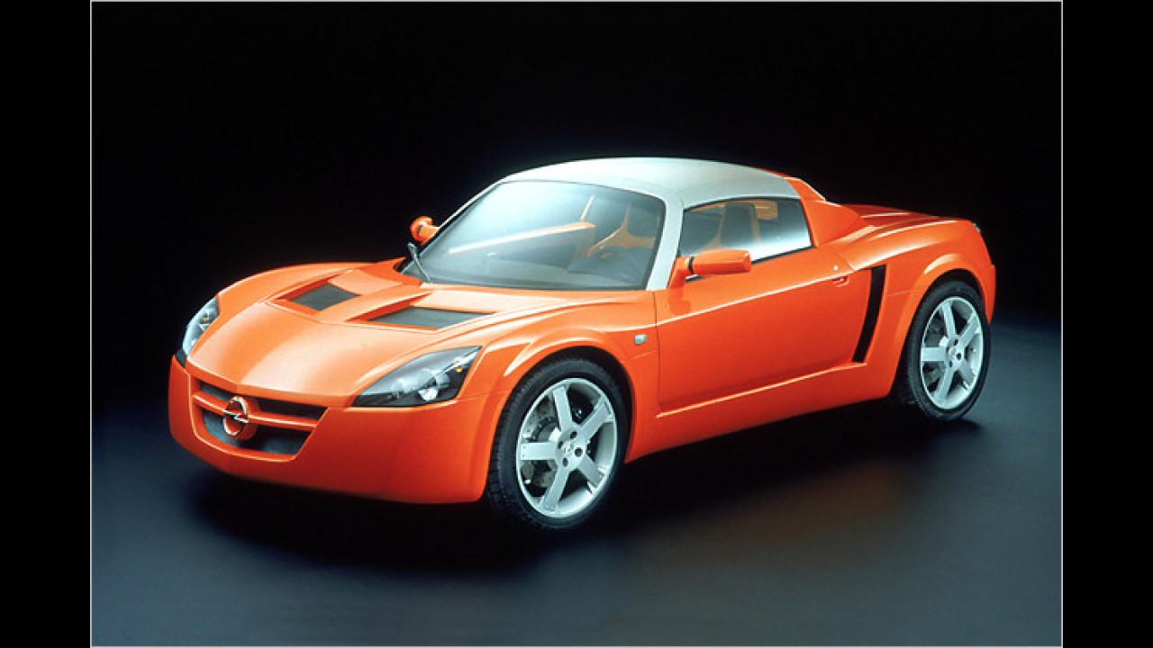 Die Kunden machten um ihn einen riesigen Bogen: Der 2000 in Genf vorgestellte Opel Speedster verkaufte sich bis zu seinem vorzeitigen Aus grottenschlecht