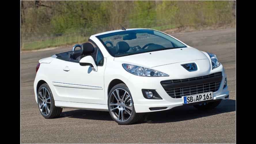 Peugeot-Sondermodell 207 CC Black & White Edition