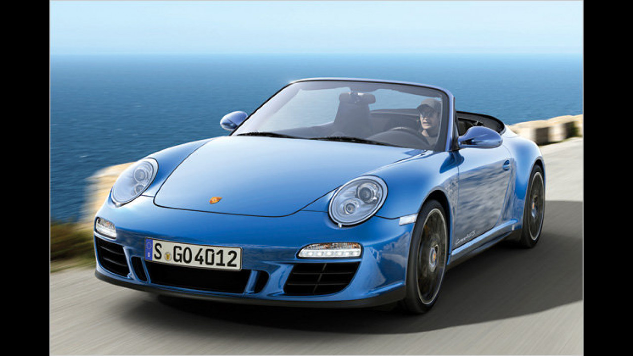 Porsche 911 Carrera Cabriolet GTS PDK