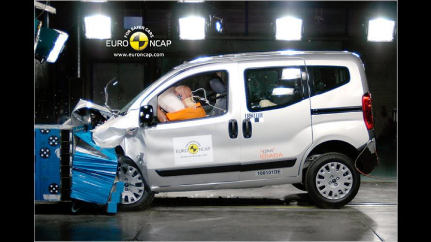 EuroNCAP: Kia Venga und vier andere Modelle im Crashtest