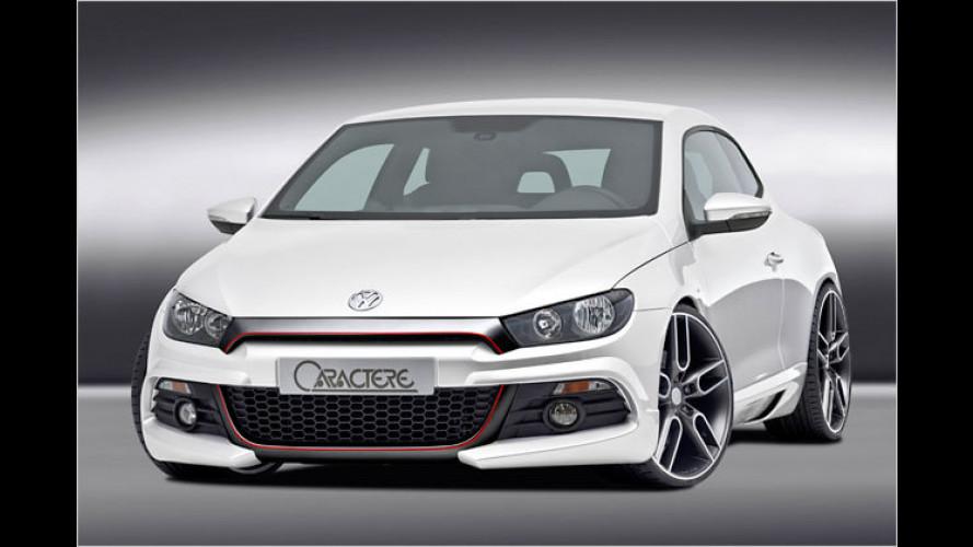 VW Scirocco Caractère: Charakter-Sportler von JMS