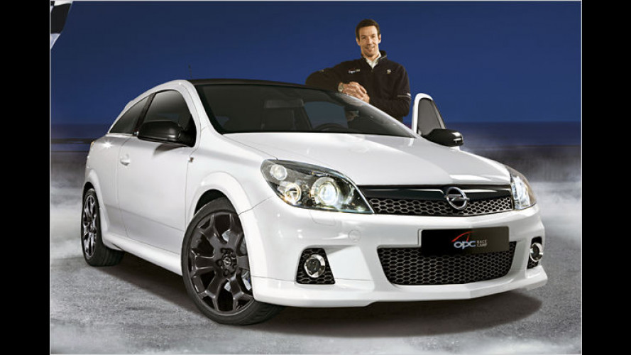 Opel Astra OPC als günstiges Sondermodell Race Camp