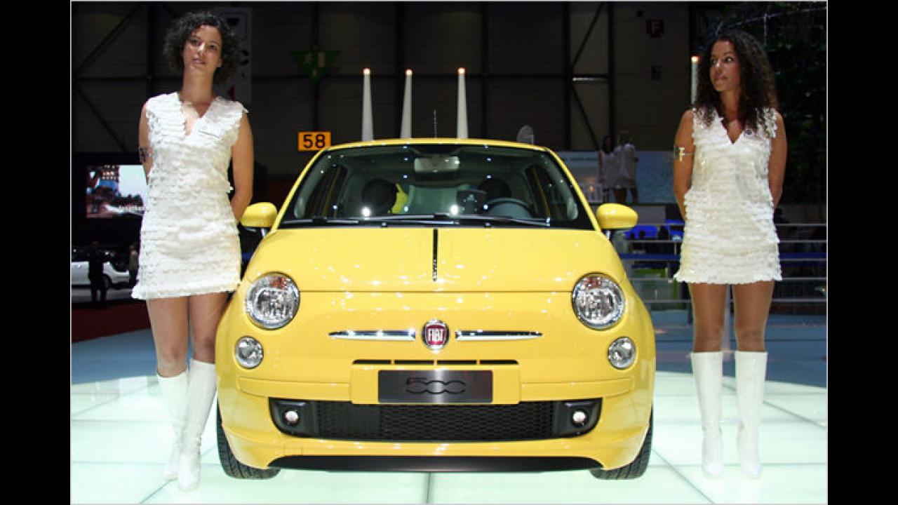Zitronengelb? Nein, das ist kein Zitrön, sondern ein Fiat!