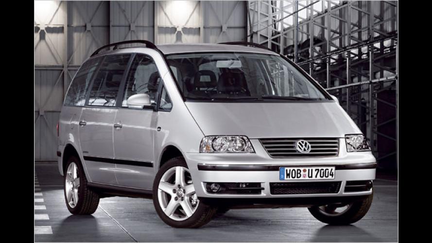 VW Sharan BlueMotion als Sondermodell ,United