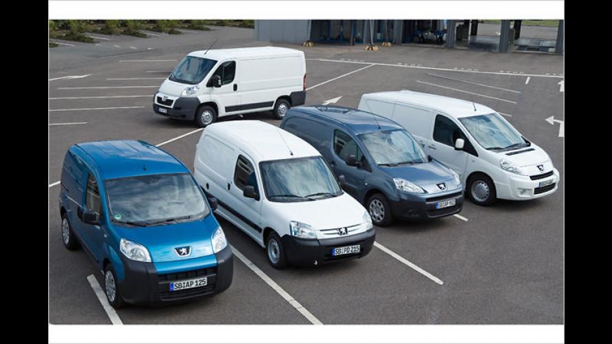 Peugeot präsentiert auf der IAA Nutzfahrzeuge neue Modelle