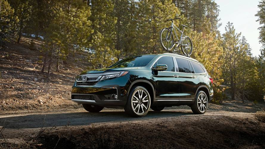 Honda Pilot And HR-V Get Updated Tech, Styling Cues For 2019