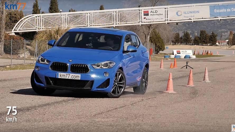 Volvo XC40 ve BMW X2'nin geyik testlerini izleyin