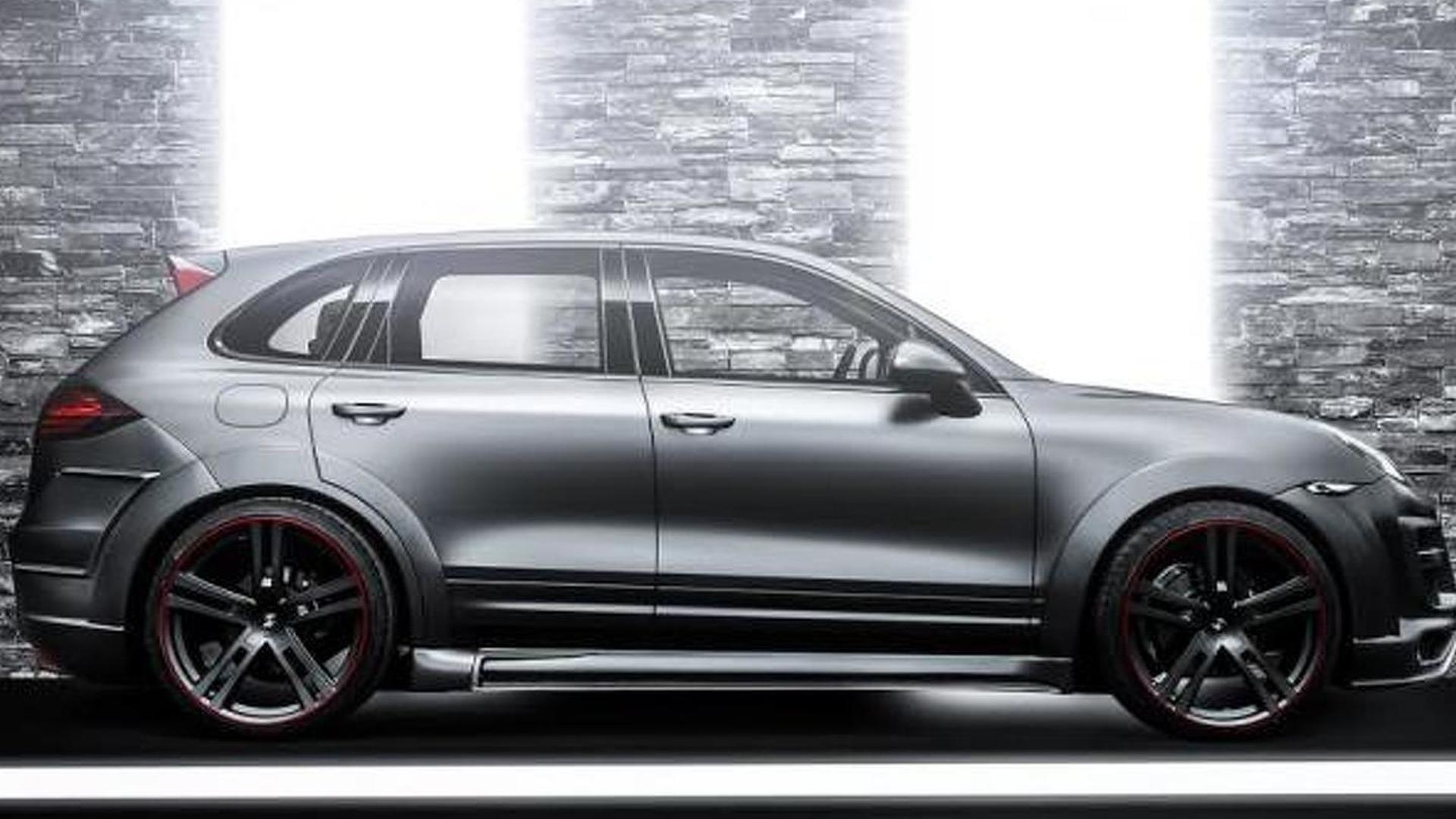 Новый тюнинг Porsche Cayenne от CT Exclusive