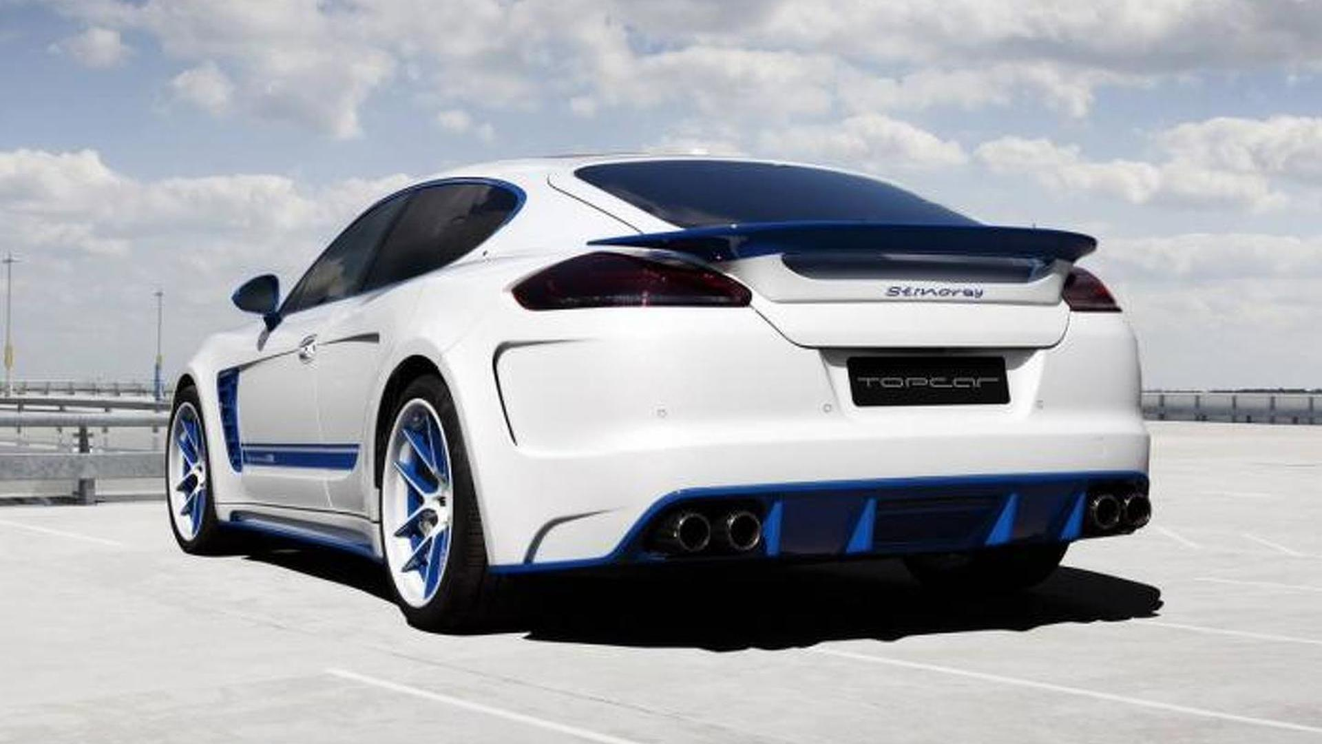 Тюнингованная Porsche Panamera Stingray GTR Blue