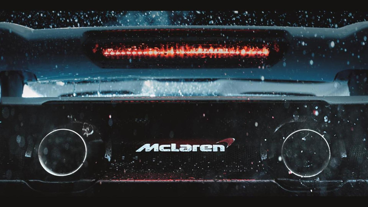 McLaren 675LT teaser