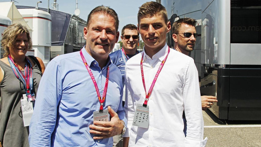 Father plays down 'superstar' Verstappen's Suzuka debut