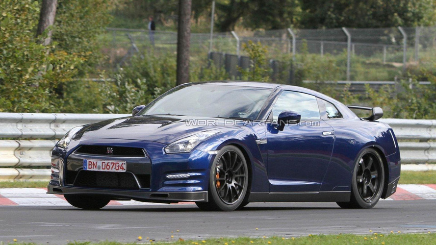 Hot-variant 2013 Nissan GT-R spied on the ring