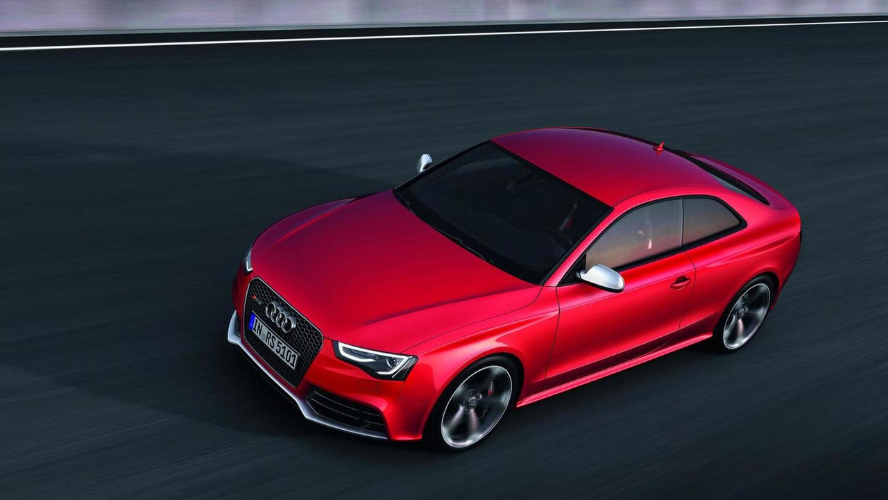 2012 Audi RS5 facelift 13.09.2011