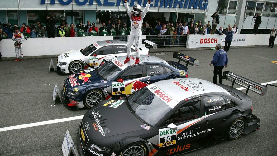 New Audi A4 DTM Takes Commanding 1-2-3 on Racing Debut
