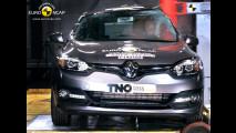 Crash Test Renault Megane restyling
